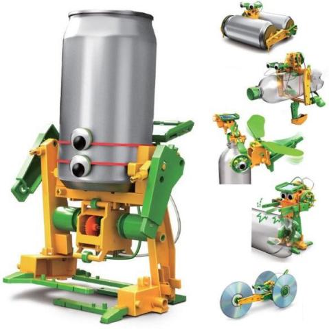 HM Studio Robot solarní 6 v 1