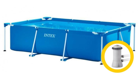 Bazén Intex Frame Family 2,2 x 1,5 x 0,6 m, s kartušovou filtrací 28270KF