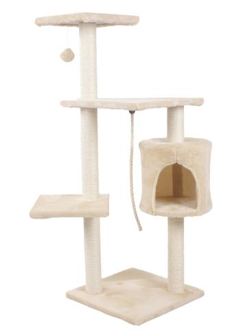 Hawaj Škrabadlo pro kočky 112 cm krémová 8016LB