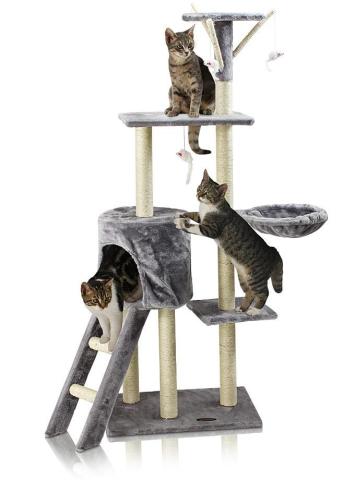 Hawaj Škrabadlo pro kočky 138 cm antracit 201513
