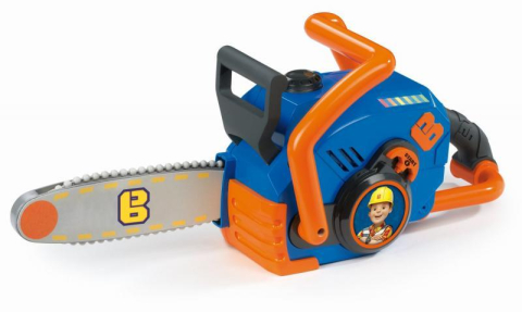 Smoby detska motorova pila elektronicka Bob the builder s pohyblivou retazou