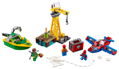 Lego Super Heroes 76134 Spiderman Doc Ock a loupež diamantů