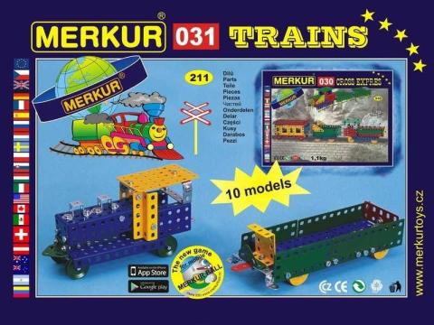 Merkur M 031 Železniční modely