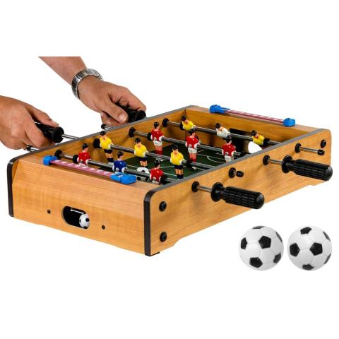 MAX Mini stolní fotbal fotbálek 51 x 31 x 8 cm světlý OEM