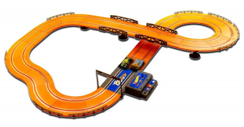 Hot Wheels Závodní dráha 380 cm s adaptérem