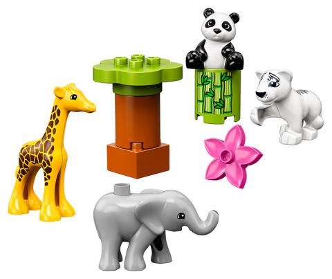 LEGO DUPLO 10904 Zvířecí mláďátka Lego