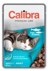 Calibra Cat kapsa Premium Adult Trout & Salmon 100 g