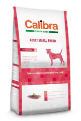 Calibra Dog Grain Free Adult Small Breed Duck 7 kg