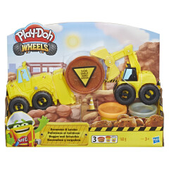 Play-Doh Wheels Těžba