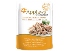 Applaws Cat Pouch Chicken with Beef in Jelly 70 g