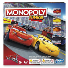 Monopoly Junior Auta 3