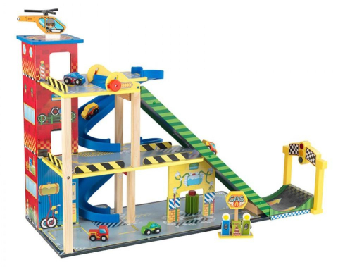 Autodráha KidKraft Mega Ramp Racing Set