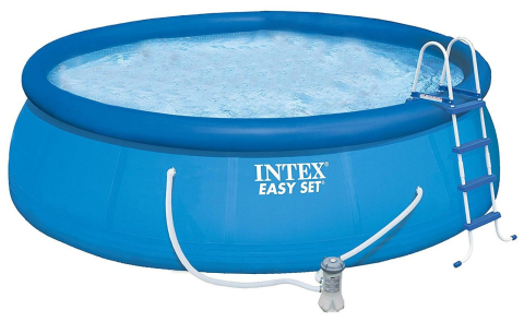 Bazén Intex Easy Set 4,57 x 1,22 m kompletset s filtrací