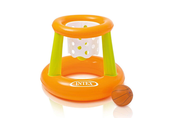 Nafukovací basketbalový koš Intex Floating Hoops Set 58504