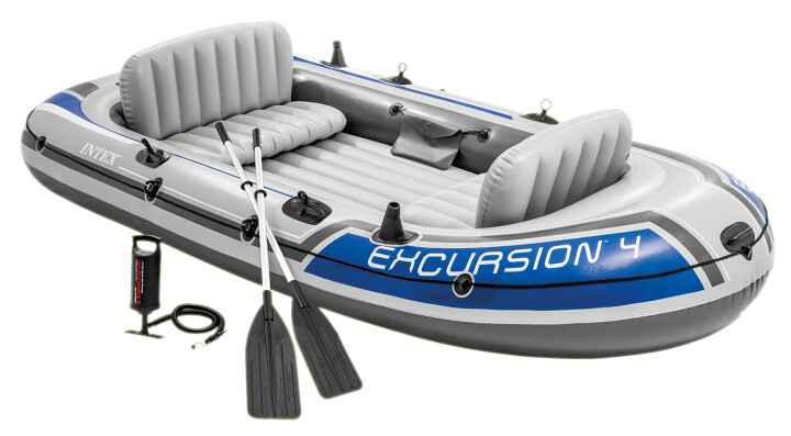 Nafukovací člun Intex Excursion 4 set