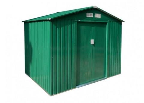 Zahradní domek G21 GAH 429 - 251 x 171 cm, zelený