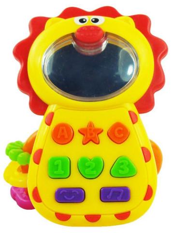 Dětská hračka se zvukem Baby Mix Lvíček
