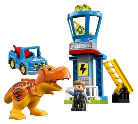Lego DUPLO 10880 Jurský svět T. rex Tower