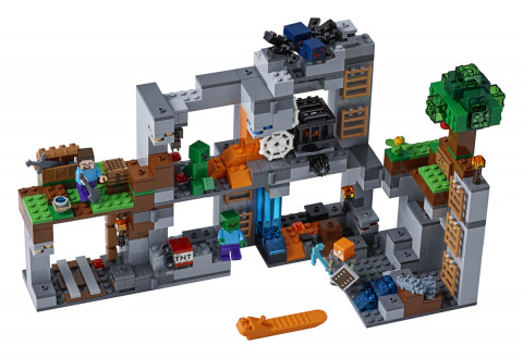 Lego Minecraft 21147 Skalní dobrodružství