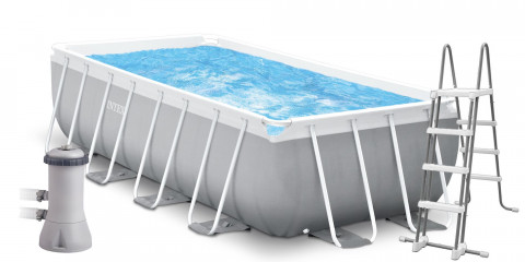 INTEX Prism Frame Rectangular Pools 4,88 x 2,44 x 1,07m 26792NP