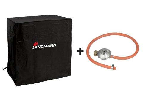 Landmann Quality ochranný obal na gril M a připojovací sada