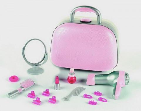 Kufřík s fénem zrcátkem a doplňky Braun