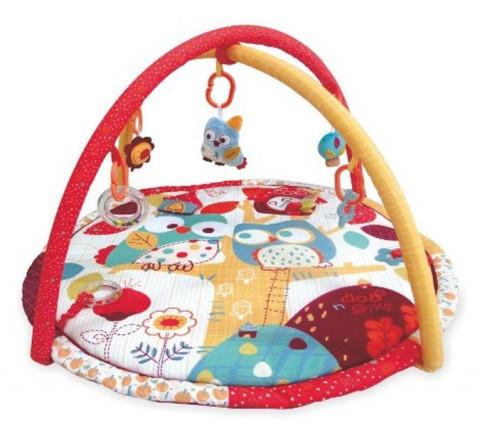Baby Mix Hrací deka s hrazdičkou sovička