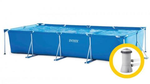 ntex Frame Family 4,5 x 2,2 x 0,84 m s kartušovou filtrací 28273KF