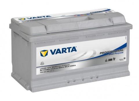Trakční baterie VARTA Professional Dual Purpose (Deep cycle) 90Ah, 12V, LFD90