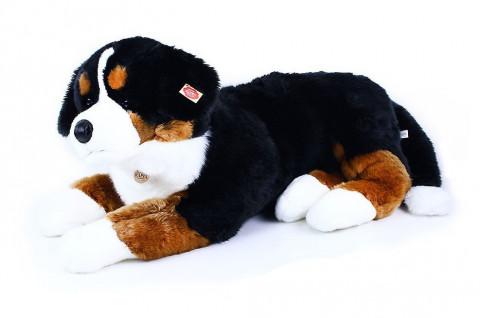 Rappa velký plyšový pes salašnický ležící, 89 cm 820197