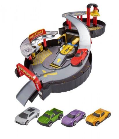 Teamsterz skládací garáž s autíčky