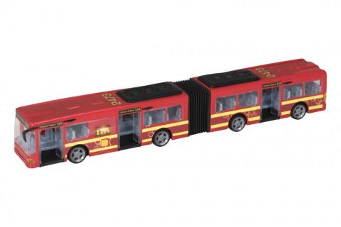 Halsall Teamsterz autobus se světlem a zvukem červený