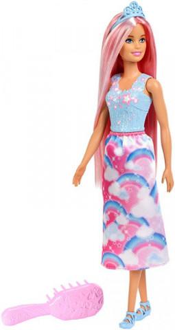 Mattel Barbie Panenka Dlouhovláska s hřebenem