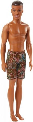 Mattel Barbie Ken ve vzorovaných plavkách černoch