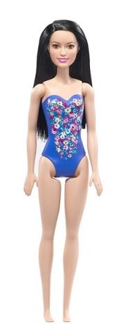 Mattel Barbie v plavkách | modré plavky 25DWJ99