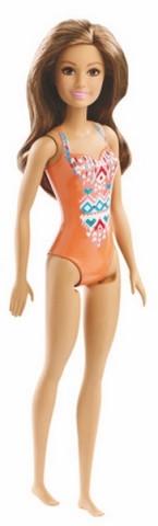 Mattel Barbie v plavkách | oranžové plavky 25DWJ99