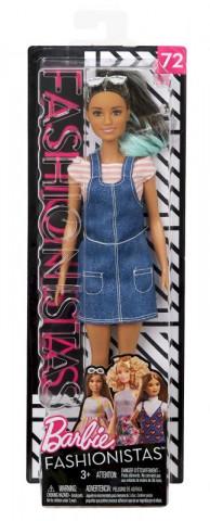Mattel Barbie modelka | denimové šaty 25FBR37
