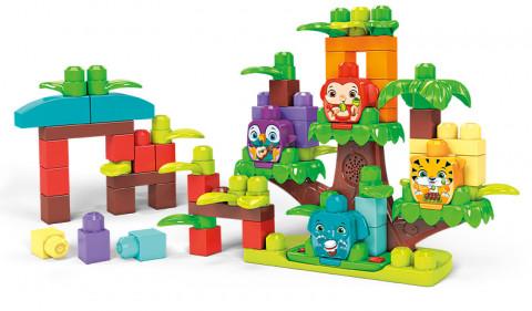 Mega Bloks Džungle se zvuky