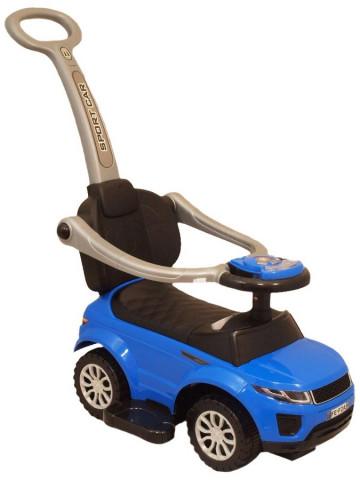 Baby Mix Range Rover s vodící tyčí 3v1 modré