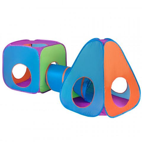 PlayTo stan 3v1 oranžovo-modrá