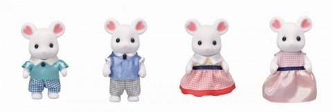 Sylvanian Families Rodina Marshmallow myšky