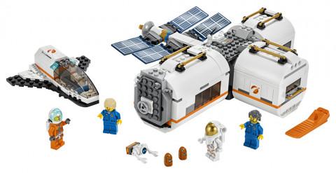 LEGO City 60227 Měsíční vesmírná stanice