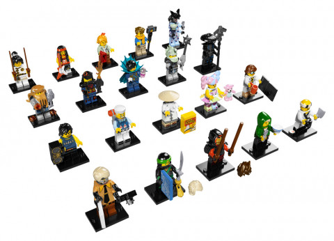 Lego Creator 71019 Minifigurky NINJAGO MOVIE