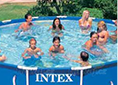 Bazén Intex Easy Set 4,57 x 1,22 m bez filtrace