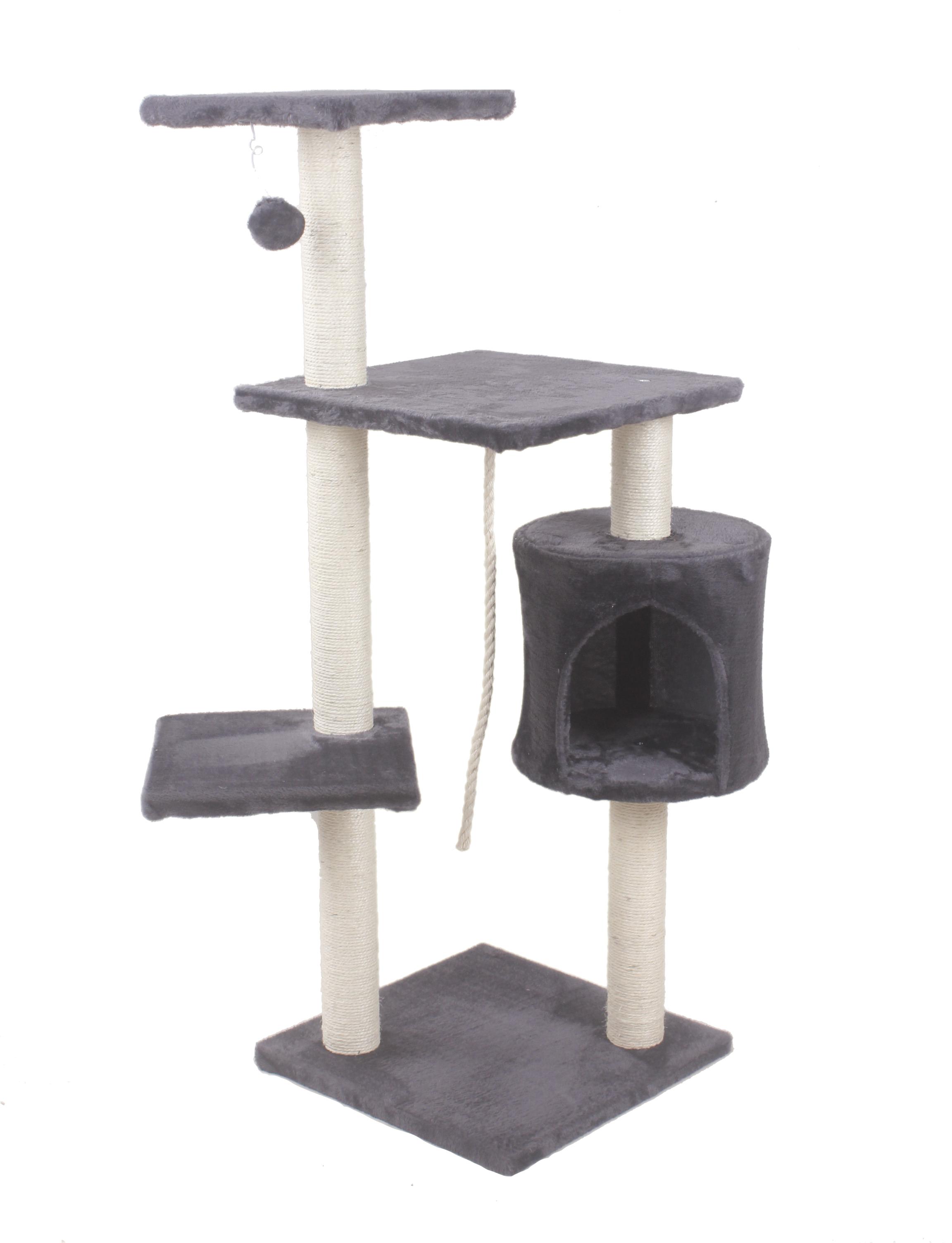 Hawaj Škrabadlo pro kočky 112 cm tmavě šedá 8016DG