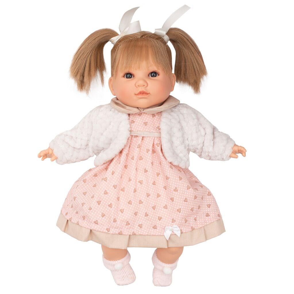 Berbesa mluvící panenka-holčička Natálka 40cm