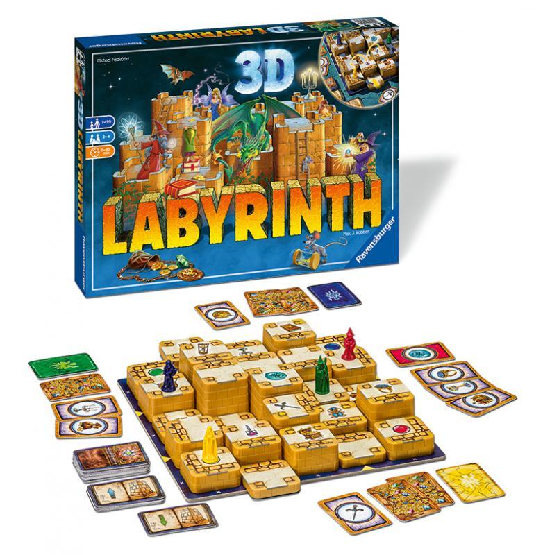 RAVENSBURGER Labyrinth 3D