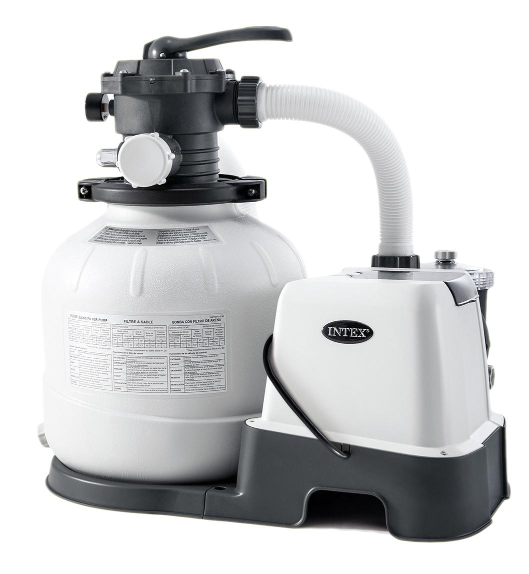 INTEX 26676 filtrace 6000 l/h písková filtrace se solinátorem