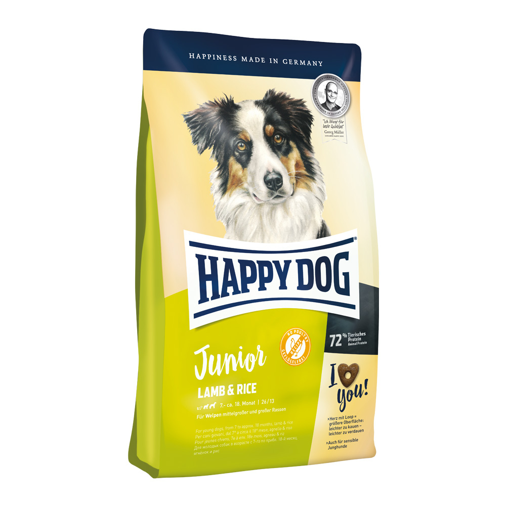 Happy Dog Junior Lamb & Rice 10 kg