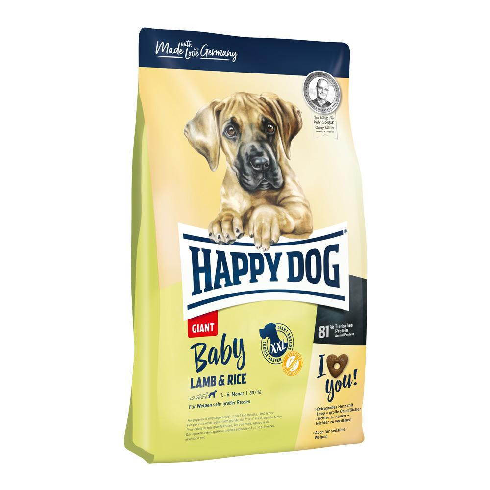 Happy Dog Baby Giant Lamb & Rice 15 kg